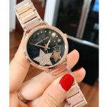 Michael Kors Portia Rose Gold Crystal Women's Watch MK3795