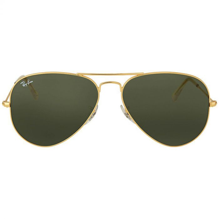 Ray-ban Aviator Classic Green G-15 Sunglasses RB3025 L0205 58-14