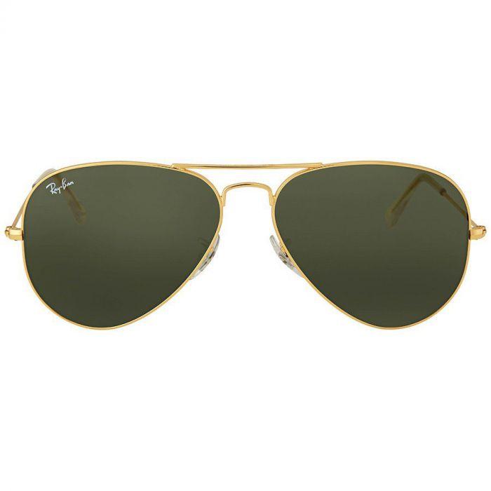 Ray-ban Aviator Classic Green G-15 Sunglasses RB3025 L0205 58-14