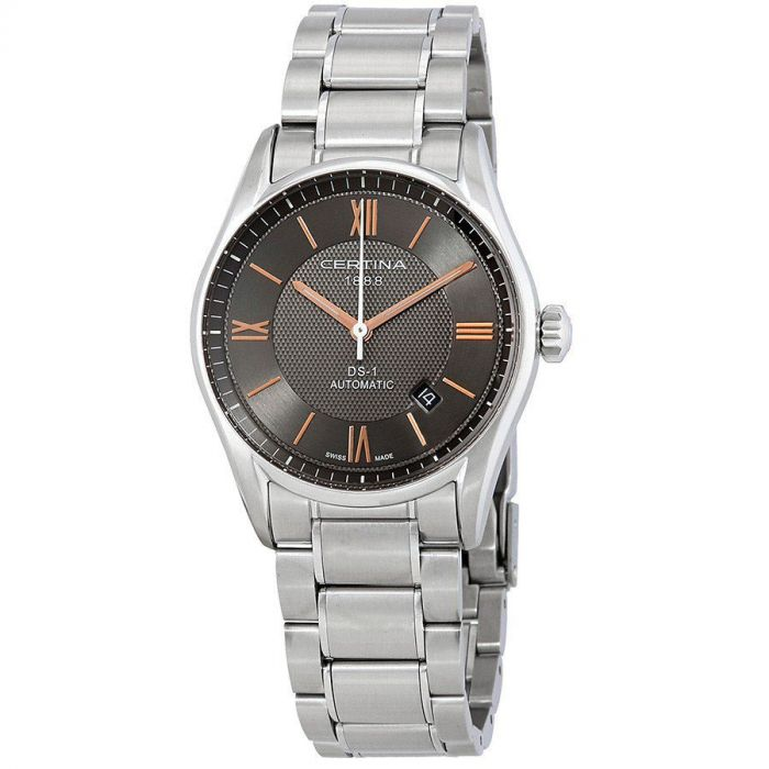 Certina DS 1 Automatic Grey Stainless Steel Men's Watch C006.407.11.088.01
