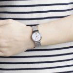 Skagen Ancher Mother of Pearl Mesh Women's Watch 355SSRS