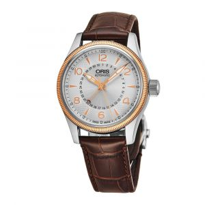 Oris Big Crown Pointer Date Automatic Brown Leather Men's Watch 754-7679-4361LS