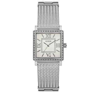 Guess Dressy Crystal Mesh Analog Women's Watch U0826L1