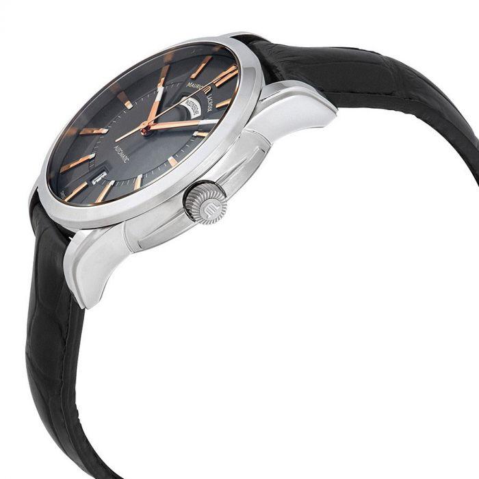 Maurice Lacroix Pontos Grey Automatic Day Date Men's Watch PT6158-SS001-03EBK