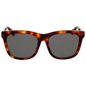 Gucci Havana Grey Leses Sunglasses GG0057SK 003