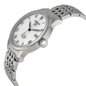 Tissot T-Classic Le Locle Silver Automatic Men's Watch T41.1.483.33