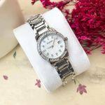 Bulova Diamond Date Stainless Steel Women's Watch 96R105