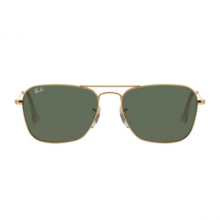 Ray-ban Caravan Arista Frame Green Classic G-15 Sunglasses RB3136 001 58