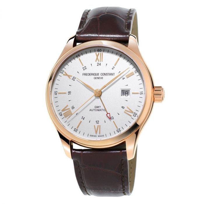 Frederique Constant Classics Index GMT Automatic Brown Men's Watch FC-350V5B4
