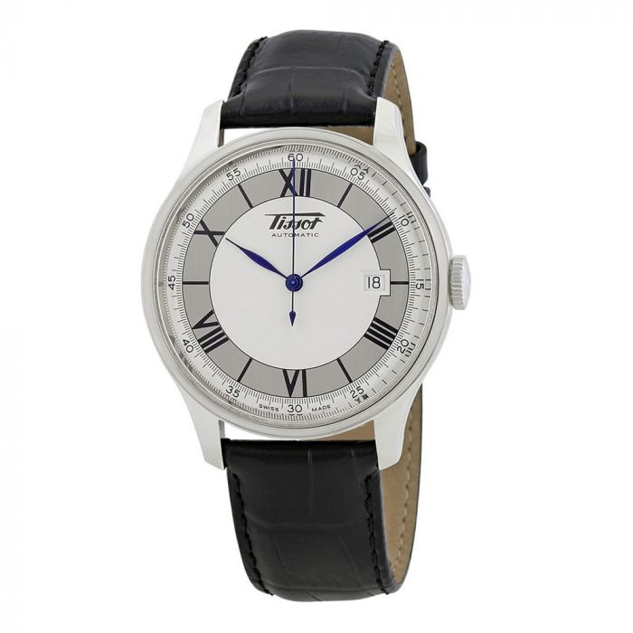 Tissot Heritage Sovereign Automatic Black Leather Men's Watch T66.1.723.33
