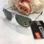Ray-ban Caravan Aviator Classic Green G-15 Sunglasses RB3136 004 58