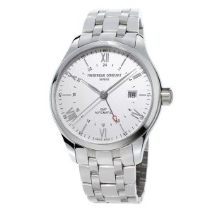 Frederique Constant Classic Index Silver Dial Automatic Stainless Steel Men's Watch FC-350S5B6B