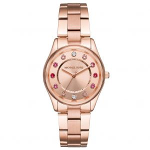 Michael Kors Colette Rose Gold Stainless Steel Women's Watch MK6604