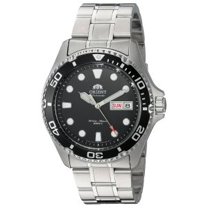 Orient Diver Ray II Analog Display Japanese Automatic Black Dial Men's Watch FAA02004B9
