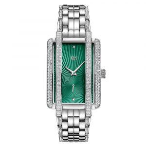 JBW Mink Green Dial Stainless Steel Women's Watch J6358A