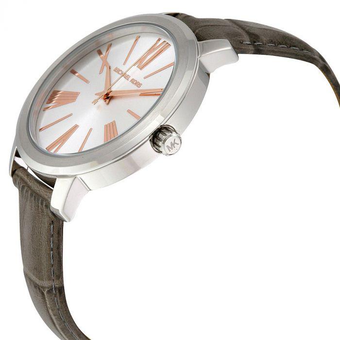 Michael Kors Hartman Grey Leather Women's Watch MK2479