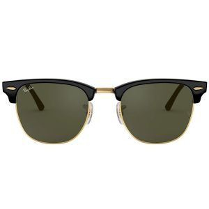 Ray-ban Clubmaster Green Classic G-15 Sunglasses RB3016F W0365 49