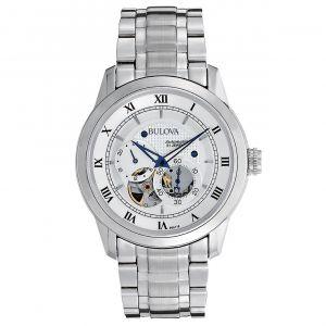 Bulova BVA Series Dual Stainless Steel Men's Watch 96A118