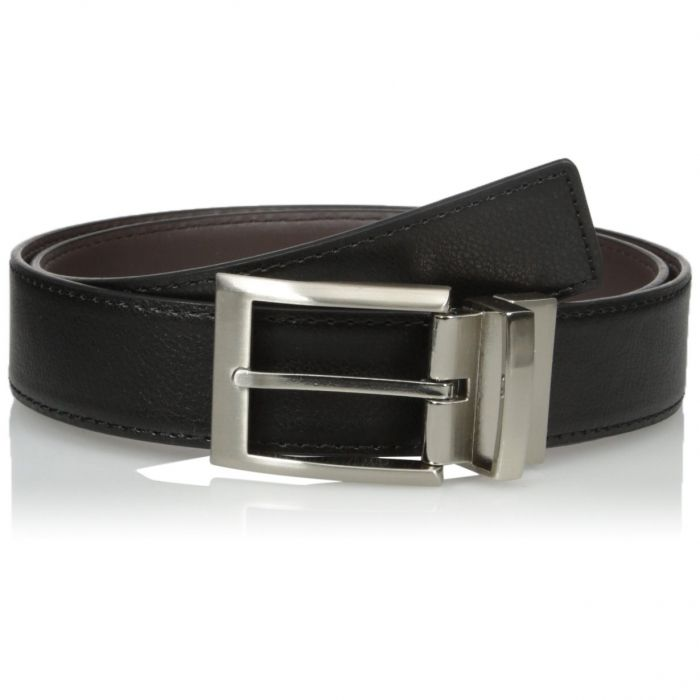 Calvin Klein Harness Buckle Reversible Black Brown 297538796-BBR Men's Belt 35mm