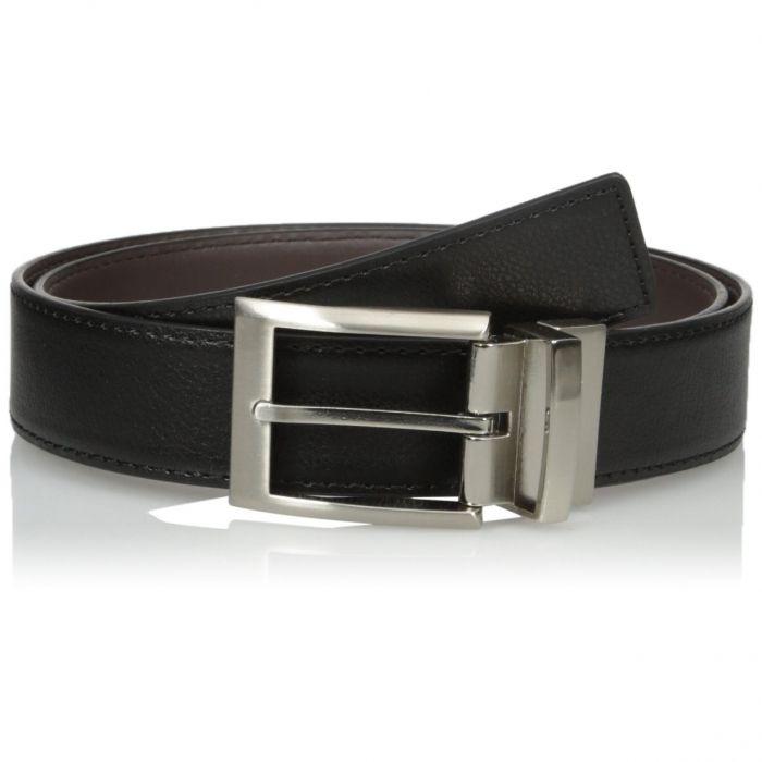 Calvin Klein Harness Buckle Reversible Black Brown 297538796-BBR Men's Belt 35mm