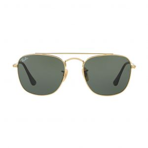 Ray-ban Green Classic G-15 Square Metal Sunglasses RB3557 001 51