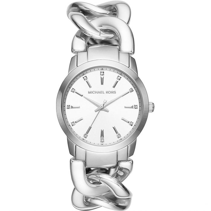 Michael Kors Elena Silver Women's Watch MK3607