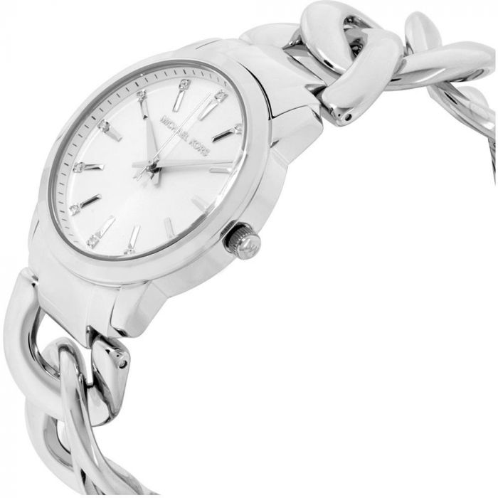 Michael Kors Elena Silver Women's Watch MK3607