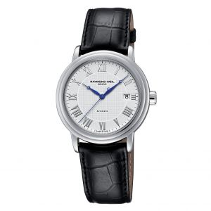 Raymond Weil Maestro Swiss Automatic Stainless Steel White Dial Men's Watch 2837-STC-00308