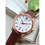 Tissot Quickster Date Brown Leather Men's Watch T095.410.36.037.00