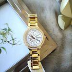 Michael Kors Taryn Mother of Pearl Gold Tone Women's Watch MK6550