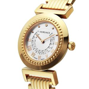 Versace Vanity White Dial Rose Gold Women's Watch P5Q80D001S080