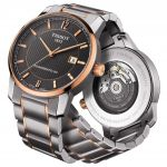Tissot T-Classic Collection Titanium Automatic Black Dial Men's Watch T087.407.55.067.00