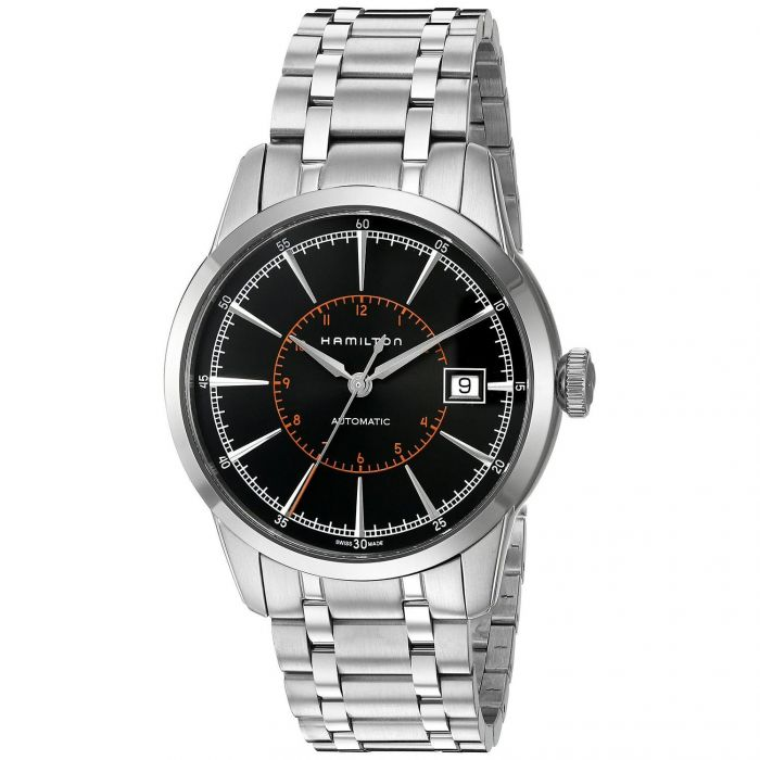 Hamilton Classic Railroad Automatic Stainless Steel Men's Watch H40555131