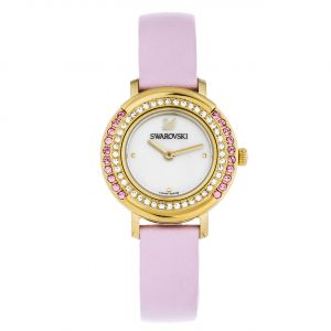 Swarovski Playful Mini Pink Leather Women's Watch 5261462