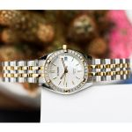 Citizen Swarovski Elegant Two Tone Women's Watch EU6064-54D