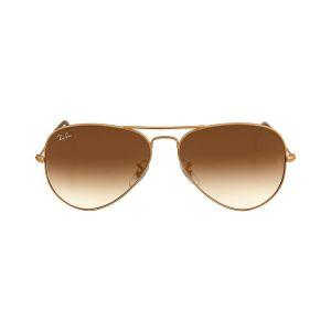 Ray-ban Original Aviator Brown Gradient Metal Sunglasses RB3025 001/51 58-14