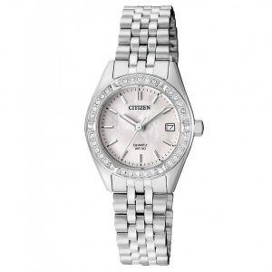 Citizen Swarovski Elegant Silver Women's Watch EU6060-55D