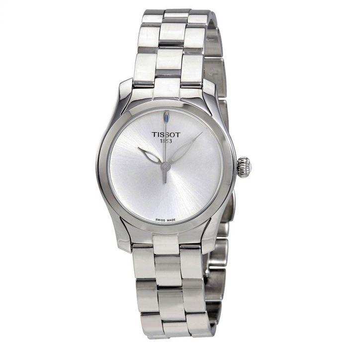 Tissot T-Wave II Silver Stainless Steel Women's Watch T112.210.11.031.00
