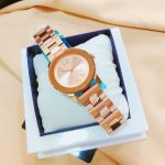 Movado Bold Bronze Crystal Accented Rose Gold 3600335