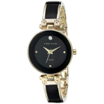 Anne Klein Diamond Black Dial Women's Watch AK/1980BKGB