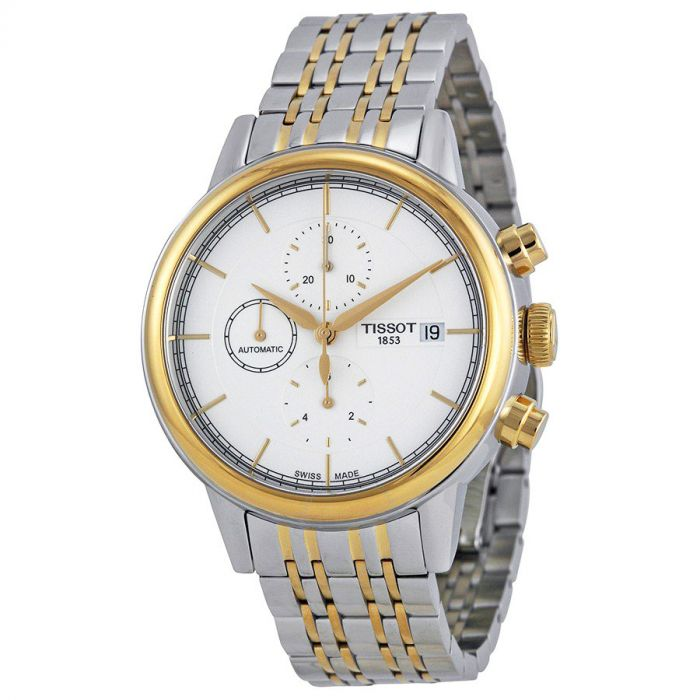 Tissot Carson Automatic Chronograph Two Tone Men's Watch T085.427.22.011.00