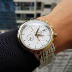 Tissot Carson Automatic Chronograph Two Tone Men's Watch T085.427.22.011.00