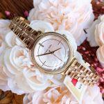 Michael Kors Cinthia Three Hand Two Tone Stainless Steel Women's Watch MK3860