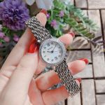 Bulova Diamond Mother of Pearl Stainless Steel Women's Watch 96R203