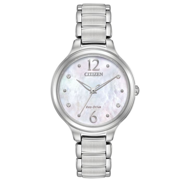 Citizen Chandler Crystal Mother of Pearl Women's Watch EM0550-59D