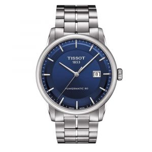 Tissot Luxury Automatic Powermatic 80 Blue Men's Watch T086.407.11.041.00
