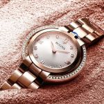 Bulova Rubaiyat Diamond Rose Gold 98R248