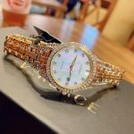 Citizen Silhouette Crystal Mother of Pearl Women's Watch EW1222-84D