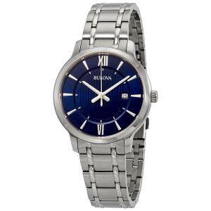 Bulova Classic Blue Dial  Men's Watch 96B282