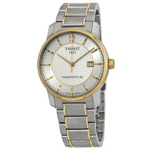 Tissot T-Classic Automatic Titanium Two Tone Men's Watch T087.407.55.037.00